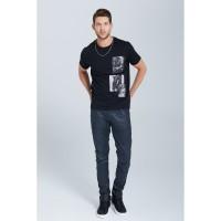 Jeremy Meeks 20SJM1012-1800 T-Shirt Schwarz