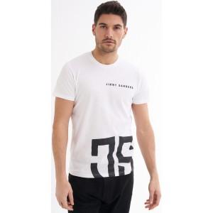 Jimmy Sanders 20SJSMTST00034 T-Shirt Weiss