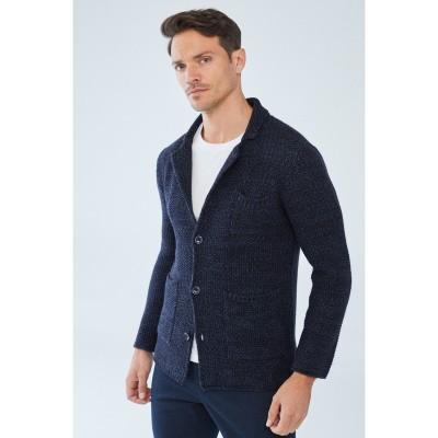 Boris Becker ETHAN Jacket-style Cardigan Blau