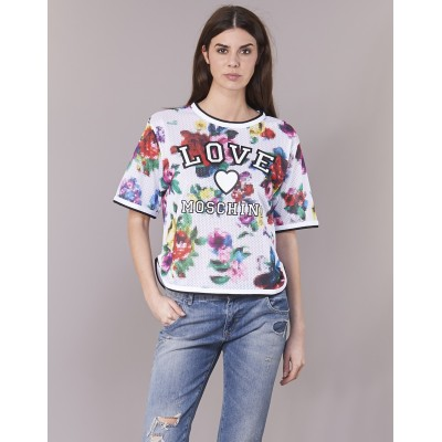 Love Moschino W4G2801 Weiss / Multicolor