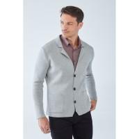 Boris Becker LAM Jacket-style Cardigan Grau