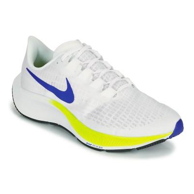 Nike AIR ZOOM PEGASUS 37 Weiss / Blau / Gelb